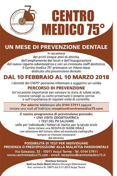 Prevenzione dentale 2018